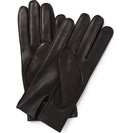 Berluti - Silk-Lined Leather Gloves