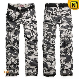 cwmalls - Mens Military Camo Cargo Pants Trousers CW100059