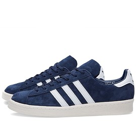 adidas - Campus 80s Vintage Japan Dark Blue & Off White