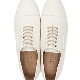 MARGARET HOWELL - CANVAS LACE UP SHOES