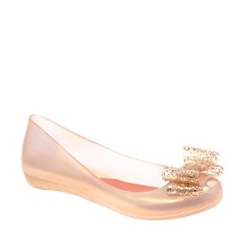 Vivienne Westwood - Ultra Girl Lace Bow Front Flat Shoes