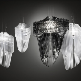 Zaha Hadid - Aria and Avia Lamps