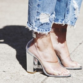 3.1 Phillip Lim - Clear shoes
