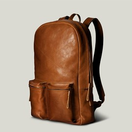 hard graft's modular 2unfold tanned leather laptop + tablet bag