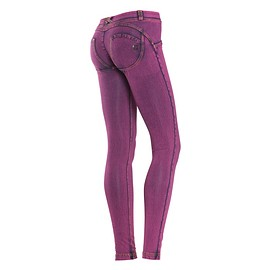 freddy - WR.UP® SHAPING EFFECT - Taille Basse - SKINNY - effet jean coloré