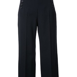 Le Ciel Bleu - high waisted trousers