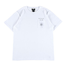 "snowpeak medicomtoy - POCKET TEE ""LOGO"""