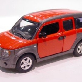 EBBRO - 1/43 HONDA ELEMENT (SUNSET ORANGE P.)