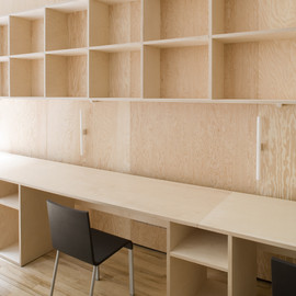 Carmody Groarke Architect - Plywood Workspace