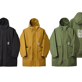 STANDARD CALIFORNIA - SD Three Layer Field Hood Coat