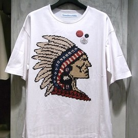 VOTE MAKE NEW CLOTHES - indian Tee  WHITE