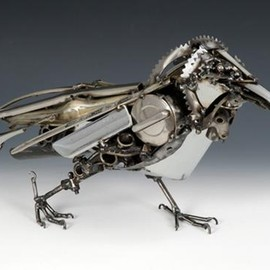 Steampunk-Crow