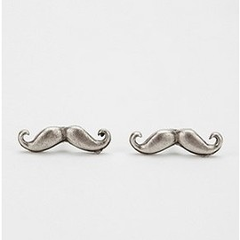 urban outfitters - Stache Post Earrings