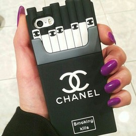 CHANEL Cigarettes iPhone Case