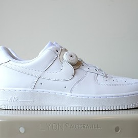 NIKE, ptarmigan - Nike Air Force1 customized
