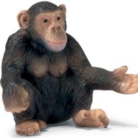 Schleich - Chimpanzee female