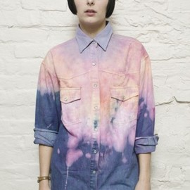 THE RAGGED PRIEST - Loveheart Denim Shirt