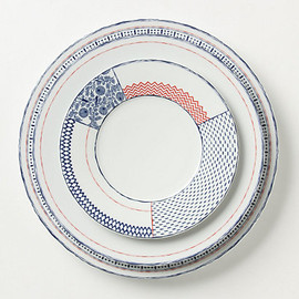 Anthropologie - sen-gaki dinner plate