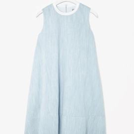 COS - A-LINE CHAMBRAY DRESS