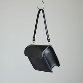 Maria Jobse - 1-Pocket Clutch Fat #black/cow leather