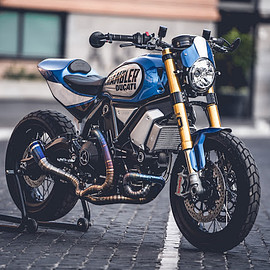 CC Racing Garage - Ducati Scrambler FT 1100