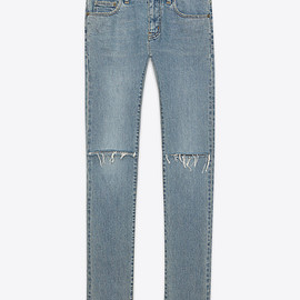 SAINT LAURENT PARIS - VINTAGE BLUE DENIM