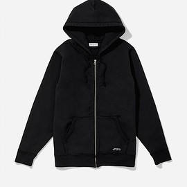 Saturdays Surf NYC - JP Zip Hooded Sweatshirt, Black