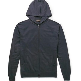 Loro Piana - Cashmere and Silk-Blend Zip-Up Hoodie