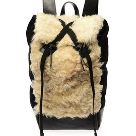 CHRISTOPHER RAEBURN - Sheepskin Remade backpack