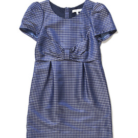 SEE BY CHLOE - Chekered Pattern Polyester & Acetate Dress