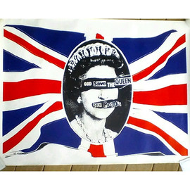 Jamie Reid - God Save the Queen - Original Poster