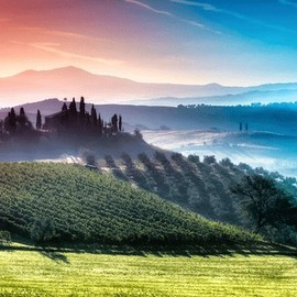 Toscana - Prismatic Layers of Air in Tuscany