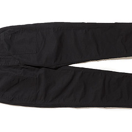 ENGINEERED GARMENTS - Fatigue Pant-Cotton Double Cloth-Black