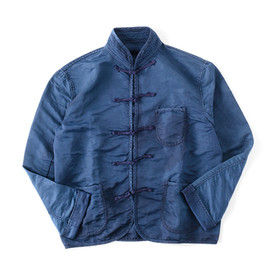 Porter Classic × SHIPS JET BLUE - china jacket