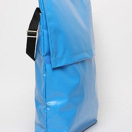 COMME DES GARCONS SHIRT - MEN'S PVC COURIER BAG