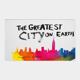 The Greatest City on Earth - ポストカードセット