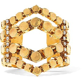 Erickson Beamon - Awaken gold-plated crystal cuff