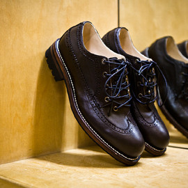 N.HOOLYWOOD - 2011 Fall/Winter Leather Longwing Brogue