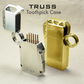 FACTRON, ファクトロン, ファクタスデザイン - TRUSS Toothpick case トラス爪楊枝ケース