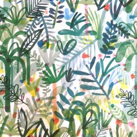 Charlotte Trounce - wrapping paper 2014
