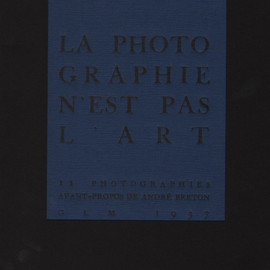 Man Ray - La photographie n'est pas l'art, Fotohof Editions, Limited 1000 copies