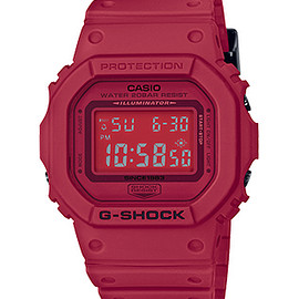 CASIO G-SHOCK - RED OUT  DW-5635C