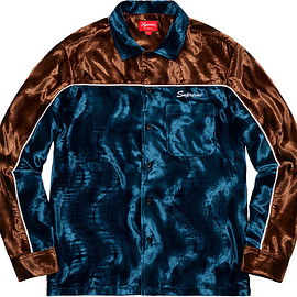 Supreme - Velvet Swirl Work Shirt