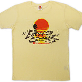 B'z - ENDLESS SUMMER Tshirts (クリーム)