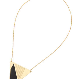 The Dayz tokyo - CHIC ALORS triangle necklace
