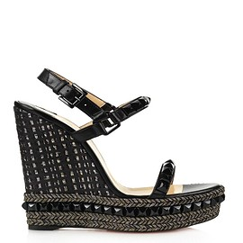 Christian Louboutin - Cataclou 140mm stud-embellished wedges