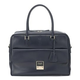 ANYA HINDMARCH - Carker  Calf Leather in Navy