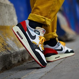 NIKE, theoze - Air Max 1 - Union AJ1 Black Toe Custom