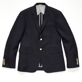 Thom Browne - Wool Navy Blazer