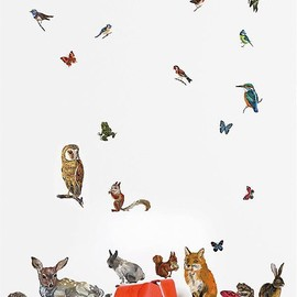 animal wall - animal wall stickers